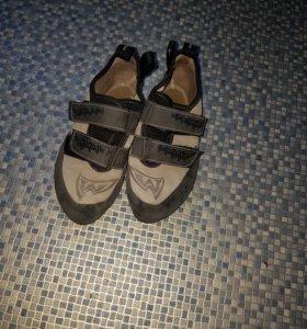 Система и обувь для скалолазания