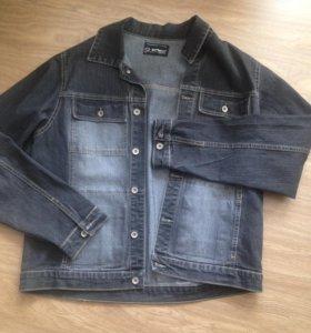 Джинсовая куртка размер 48-50