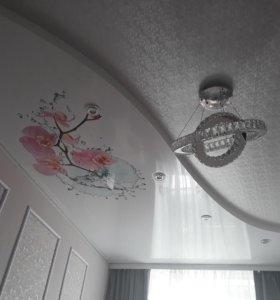 Натяжные потолки матовые и глянцевые
