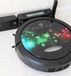 Робот-пылесос(сухая/влажная уборка, УФ-фильтр, в/с