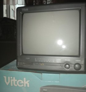 Переносной телевизор Vitek
