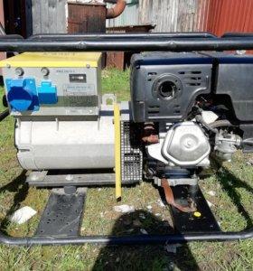 Бензиновый генератор - сварочный аппарат