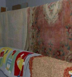 Ручная стирка ковров.