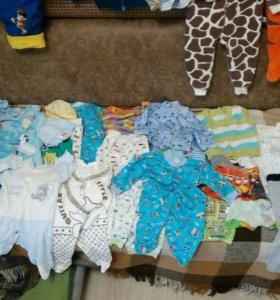 Одежда и обувь на мальчика 0-2 года