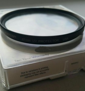 Светофильтр Tiffen UV Protector Filter 67mm