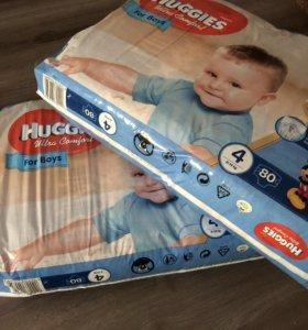 Подгузники Huggies Ultra Comfort for boys (8-14kg)