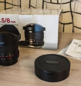 Samyang 8mm f/3.5 AS IF UMC Fish-eye