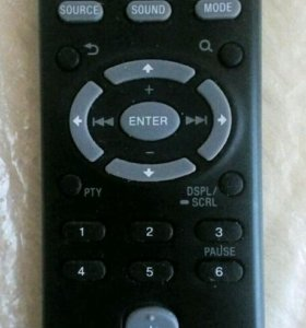 Пульт магнитолы Sony RM-X211