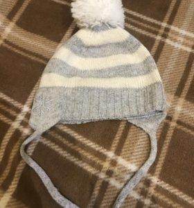 Осенняя шапочка для Девочки