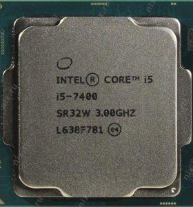 i5-7400+материнка+кулер