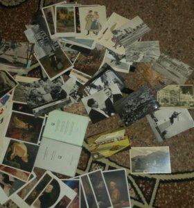 Почтовые карточки..открытки..советские и иностраны