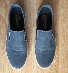 Туфли мужские 44 размер Rieker джинсовые