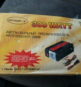 Автомобильный преобразователь 300w