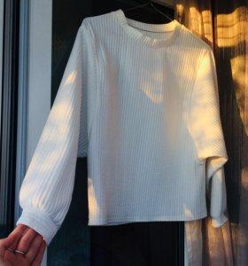 Белая толстовка/кофта