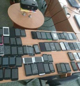 Лот смартфонов 90 штук
