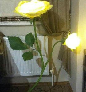 #цветы - светильники ростовые для интерьера