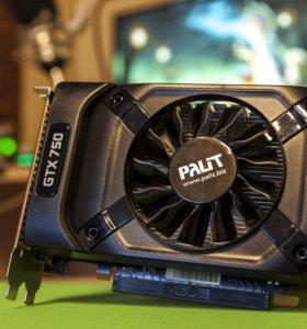 Видеокарта Palit GeForce GTX 750 STORMX