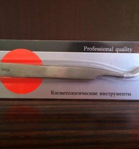 Пинцет для укладки ресниц или наращивания ресниц