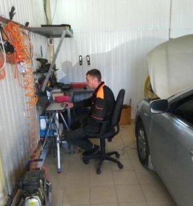 Установка, ремонт, обслуживание ГБО