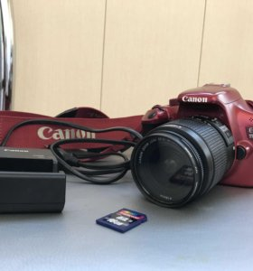 Фотоаппарат canon 1100D kit 18-55 mm