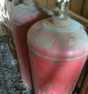 Баллоны газовые по 600 рублей кажды