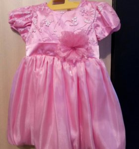 Нарядное платье на рост 86