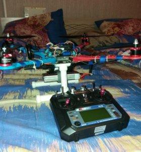 Квадрокоптер на 500 раме