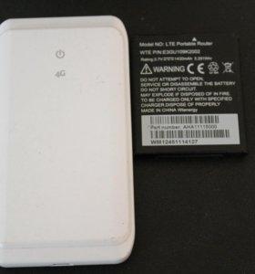 Мобильный 4G Wi-Fi роутер Yota.