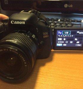 Продам Фотоаппарат Canon EOS 600 D