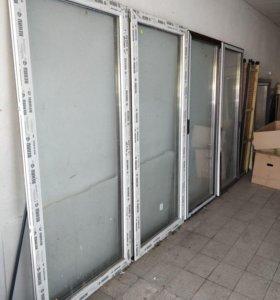 Окна балконные рехау пластиковые