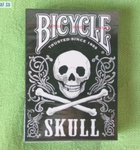 Игральные карты Bicycle Skull, USPCC США