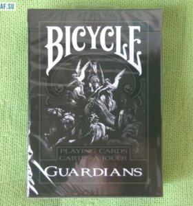 Игральные карты Bicycle GUARDIANS, USPCC США
