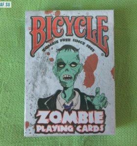 Игральные карты Bicycle ZOMBIE, USPCC США