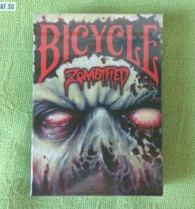 Игральные карты Bicycle ZOMBIFIED, USPCC США