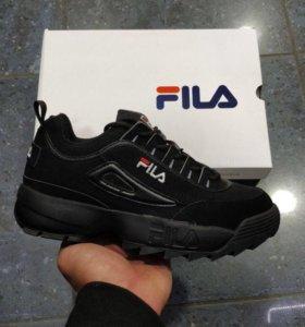 Кроссовки Fila Disruptor Чёрные 2