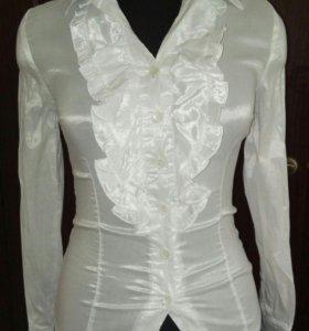 Блузы белые