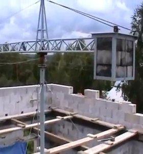 Мини кран для строительство