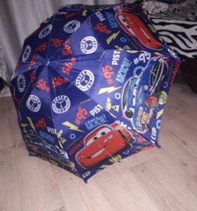 Детский НОВЫЙ зонт-трость
