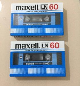 Запечатанные аудиокассеты( Япония) 6шт по
