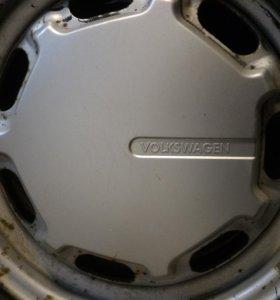 Комплект оригинальных колес Volkswagen passat B3