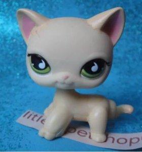 Littlest pet shop(lps) кошка стоячка оригинал #733