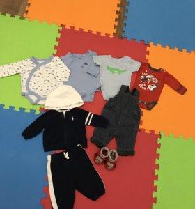 Детская одежда от 0 до 3-4 месяцев