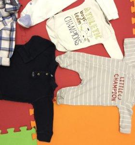 Детская одежда от 3 до 6 месяцев