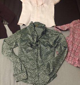 Блузки, рубашка, кардиган