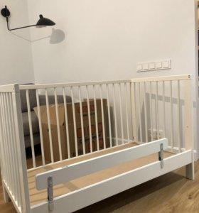 Кроватка детская, Гулливер, ИКЕА + матрас