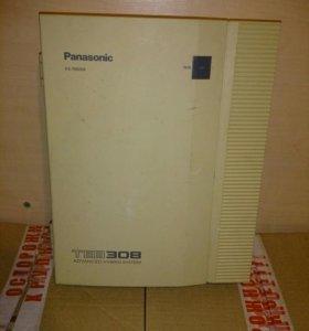 Мини атс Panasonic KX-TEB308 аналоговая
