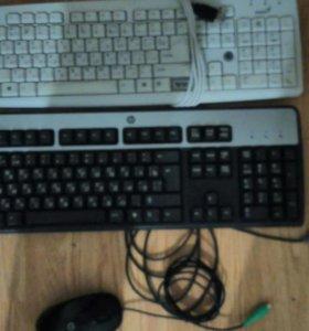 Клавиатуры, мышки на компьютер