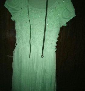 Платье нарядное (рост 140-152)