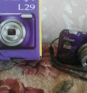 Фотоаппарат Nikon Cool pix L29