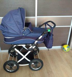 Срочно детская коляска Lonex Carrozza 2 в 1